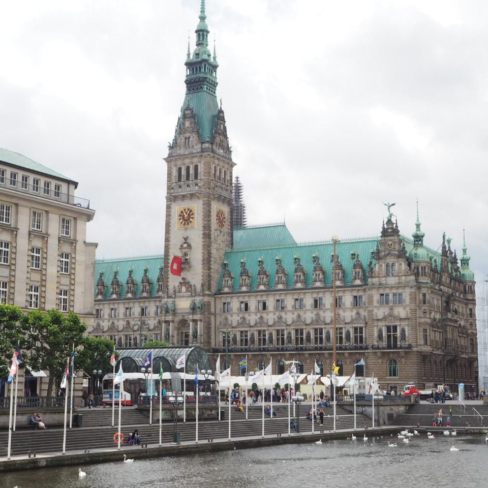 Paseando... entre los canales de Hamburgo Hamburgo Mercadillos Europeos Vintage