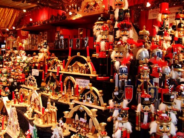 Paseando por... mercados de navidad vintage Art Déco Mercadillos Europeos Mercados de Navidad